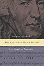 The Classical Piano Sonata: From Haydn to…