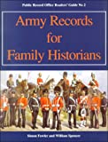Fowler, Simon: Army Records for Family Historians