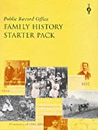 Family History Starter Pack (Public Record…