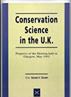 Conservation Science in the UK These 26…