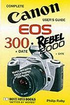 Canon EOS-300/Rebel 2000 User's Guide…