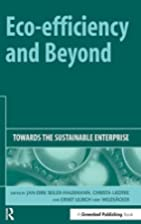 Eco-efficiency and Beyond: Towards the…