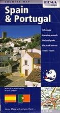 Spain & Portugal Travel Map by Hema by Hema…