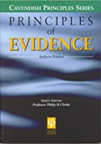 Principles of Evidence by Andrew Palmer