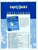 Coastwise Press: Captn. Jacks Tables 2013, Pacific Northwest Edition