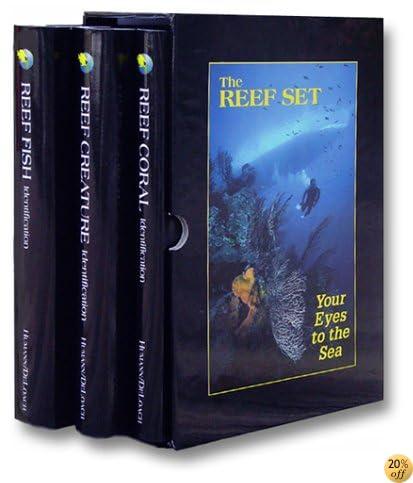 TThe Reef Set: Reef Fish, Reef Creature and Reef Coral (3 Volumes)
