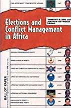 Elections and conflict management in Africa…