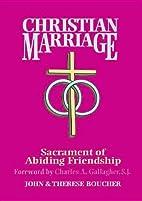 Christian Marriage: Sacrament of Abiding…