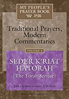 My People's Prayer Book, Vol. 4: Traditional…