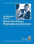 The Manager's Guide to Effective, Legal…