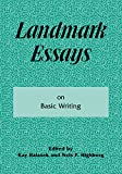 Halasek, Kay: Landmark Essays on Basic Writing