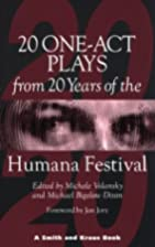 Twenty One-Act Plays from Twenty Years of…
