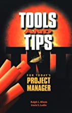 Tools and Tips for Today's Project Manager…