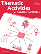 Thematic Activities for Student Portfolios…