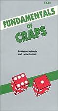 Fundamentals of Craps by Mason Malmuth