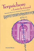Terpsichore at Louis-le-Grand : baroque…