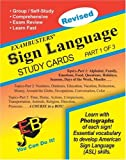 [???]: Exambusters Sign Language Study Cards