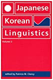 Japanese Korean Linguistics