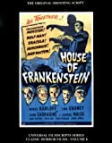 Riley, Philip J.: Magicimage Filmbooks Presents House of Frankenstein
