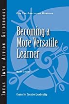 Becoming a More Versatile Learner (J-B CCL…