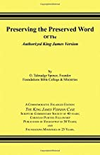 Preserving the Preserved Word of the…