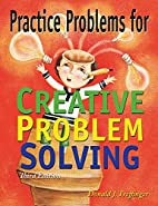 Practice Problems for Creative Problem…