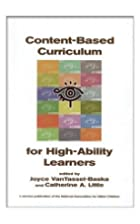 Content Based Curriculum for High Ability…