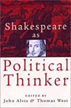 Shakespeare As Political Thinker by John…