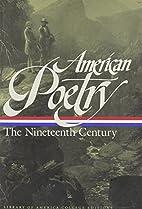 American Poetry: The Nineteenth Century…