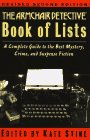 The Armchair Detective Book of Lists (2nd…