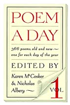 A Poem a Day by Karen Mccosker