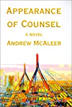 Appearance of Counsel by Andrew McAleer