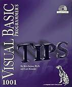 1001 Visual Basic Programmer's Tips by Kris…