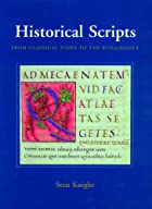 Historical Scripts: From Classical Times to…