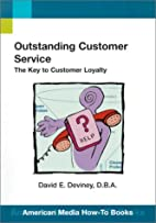 Outstanding Customer Service:: The Key to…
