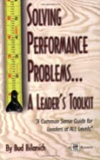 Solving Performance Problems...A Leader's…