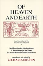 Of Heaven and Earth: Essays Presented at the…