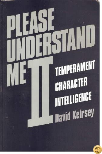 TPlease Understand Me II: Temperament, Character, Intelligence