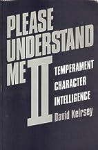 Please Understand Me II: Temperament,…