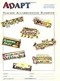 Parker PhD, Harvey C.: The ADAPT Program Attention Deficit Accommodation Plan for Teaching: Teacher Planbook