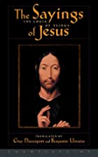 The Logia of Yeshua: The Sayings of Jesus by…
