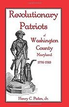 Revolutionary Patriots of Washington County,…