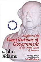 A defence of the constitutions of government…