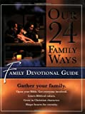 Clarkson, Clay: Our 24 Family Ways Kids Color-in-Book: Family Devotional Guide
