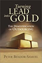 Turning Lead into Gold: The Demystification…
