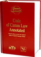 Code of Canon Law Annotated: Prepared Under…
