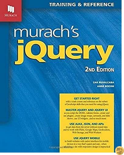 TMurach's jQuery, 2nd Edition