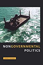 Nongovernmental Politics by Michel Feher
