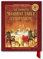 The Shabbat Table Companion (fully…