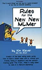 Rules for the New New MLMer by Kim Klaver